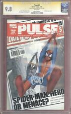PULSE 1 CGC SS 9.8 – SIGNED BY BRIAN BENDIS – EARLY JESSICA JONES