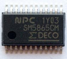 2X SM5865CM High-Fidelity digital to analog audio converter chip DAC 24bit input