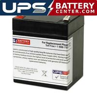 AJC Battery Compatible with Duracell DURA6-5F 6V 5Ah Sealed Lead Acid Battery