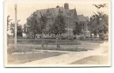 Minnesota-St Paul-Norwegian Luther Seminary-Real Photo-Antique Postcard