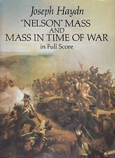 partition Joseph Haydn, Nelson mass and mass in time of war