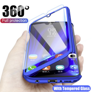 Case for Samsung Galaxy S20 S10 S9 Plus Cover 360 Luxury Thin Shockproof Hybrid
