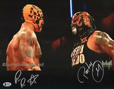 Ricochet Prince Puma & Pentagon Jr. Signed 11x14 Photo BAS Lucha Underground WWE