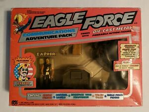 MEGO BOXED EAGLE FORCE COMMUNICATIONS ADVENTURE PACK W ZAPPER  1981