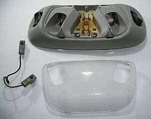 1997 95-04 Ford F150 250 Mustang Bronco Dome Interior Map Light Lamp Gray OEM