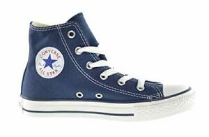 CONVERSE CHUCK TAYLOR NAVY/WHITE HIGH TOP CANVAS FOR KIDS SIZE 10.5 - 3