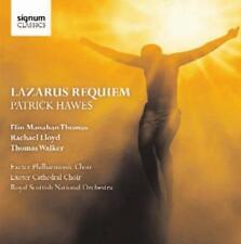 Patrick Hawes: Lazarus Requiem - Thomas Walker Elin Manahan Thomas Roya (NEW CD)