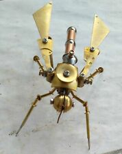 Steampunk, mechanical mosquito, very cool