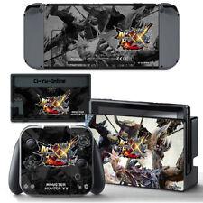 Ci-Yu-Online [NS] Monster Hunter XX VINYL SKIN STICKER DECAL Nintendo Switch