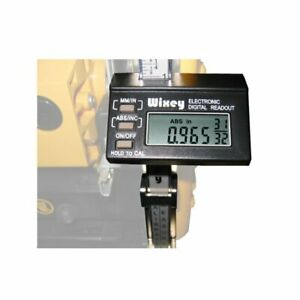 Digital Readout for Wood Planer and Thicknesser Portable DRO Woodwork Engineer