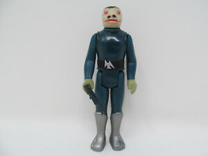 Blue Snaggletooth Reproduction vintage-style Star Wars action figure w/ blaster