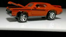 Johnny Lightning 1969 Mercury Cougar Eliminator Orange Muscle Car