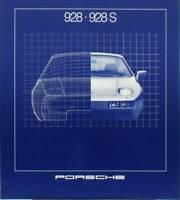 Porsche 928, 928 S Prospekt brochure 1981 TOP! MINT