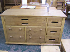 French Countrystyle Solid Reclaimed Old Rustic Pine Sideboard (made to any size)