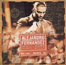 CD & DVD Alejandro Fernandez Mexico-Madrid En Directo