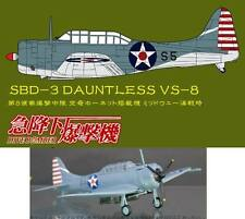 DIVE BOMBER #8 Cafereo 1/144 SBD-3 Dauntless VS-8 US NAVY Plane DB_8