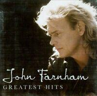 JOHN FARNHAM Greatest Hits CD BRAND NEW The Best Of