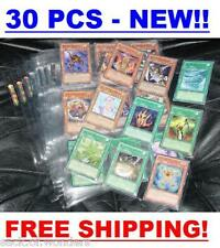 30 TRADING CARDS SLEEVES PAGES, YUGIOH, MTG, POKEMON - 9 POCKETS - ULTRA PRO