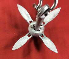 FOLDING GRAPNEL ANCHOR 1.5 POUNDS 1 1/2 LBS GALVANIZED 4 FLUKE SEACHOICE 41050