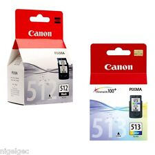 CANON CL513 + PG512 BLACK & COLOUR PIXMA MP270 MP272