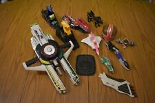 Lot of Mighty Morphin Power Rangers Guns, Zord parts, Red Bike, Some 90's