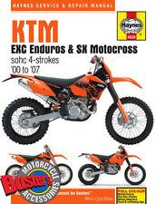 Genuine Haynes Workshop Manual 4629 KTM EXC Enduro And SX Motocross 2000-2007