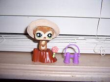 Littlest Pet Shop Special Edition Fuzzy Meerkat #819 W/ Accessories Lps Hasbro K