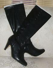Dune Zip High Heel (3-4.5 in.) Slim Boots for Women