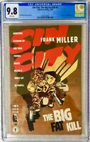 CGC 9.8 SIN CITY: THE BIG FAT KILL #1 .. FRANK MILLER STORY COVER & ART .. 1994