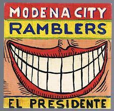 MODENA CITY RAMBLERS CD SINGOLO cds SINGLE PROMO