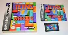 TETRIS WORLDS COMPLETE IN BOX NINTENDO GAMEBOY ADVANCE SP GBA CIB
