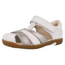 Scarpe Sandali bianchi per bambine dai 2 ai 16 anni dal Perù