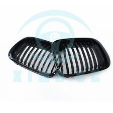 Glossy Black Kidney Grill Grille For 1998-2001 BMW E46 3 Series Sedan 2Door B