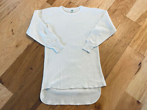 Rare vintage 70's green tag HANES never worn! L/S thermal shirt XL