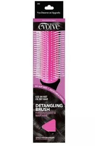 EVOLVE DETANGLING BRUSH FOR CURLY, COILY & WAVY HAIR WITH FREE SHIPPING!!