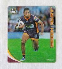2010 NRL Tazo 02/80 Justin Hodges - Brisbane Broncos