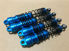 BIG BORE ALUMINUM Shock With 4mm Shaft For Traxxas Bandit VXL 2WD XL5 Blue!!