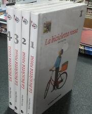 LA BICICLETTA ROSSA serie completa di 4 volumi - PLANETA DEAGOSTINI