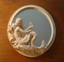 Mermaid Mirror Coastal Beach Figurine Statue Bedroom Nautical Home Decor NEW