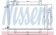 NISSENS Condensador, aire acondicionado SUZUKI SWIFT 940057
