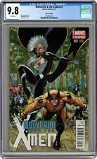 Wolverine and the X-Men #2B Adams 1:50 Variant CGC 9.8 2014 2133492022