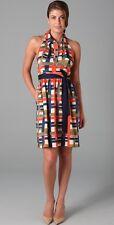 NEW Designer Milly Silk Halter Dress size 8