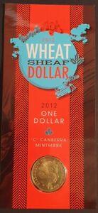 AU - 2012 - WHEAT SHEAF DOLLAR - ONE DOLLAR 'C' MINTMARK COIN