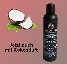 Airbrush/Spray Tanning Lotion 14% DHA 200 ml*mit Erythrulose u.Kokosduft u.Mitt