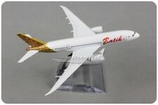 Solid Batik DREAM LINER BOEING 787 Passenger Airplane Metal Plane Diecast Model