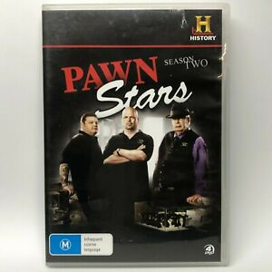 Pawn Stars - Season Two - 4 DVD Set - AusPost with Tracking