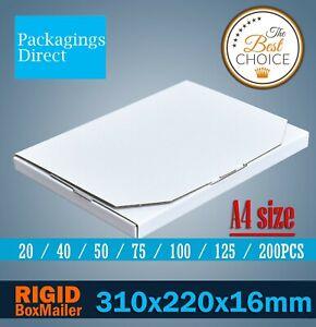 Mailing Box Superflat 310 x 220 x 16mm A4 Rigid Box 04 Envelope Flat Mailer