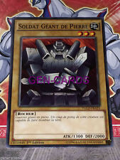 Carte YU GI OH SOLDAT GEANT DE PIERRE YGLD-FRA15 x 3