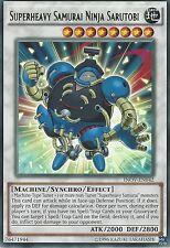 YU-GI-OH CARD: SUPERHEAVY SAMURAI NINJA SARUTOBI - RARE - INOV-EN042