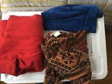 Three Ladies Blouses Size 2XL Size 22 Briggs Venezia Vitale Front Of Closet